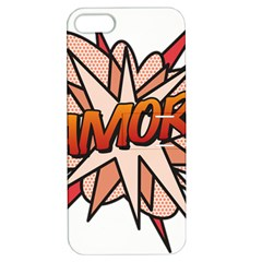 Comic Book Amor! Apple iPhone 5 Hardshell Case with Stand