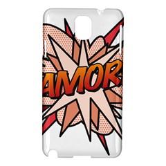 Comic Book Amor! Samsung Galaxy Note 3 N9005 Hardshell Case