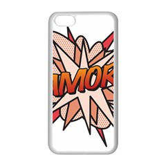 Comic Book Amor! Apple iPhone 5C Seamless Case (White)