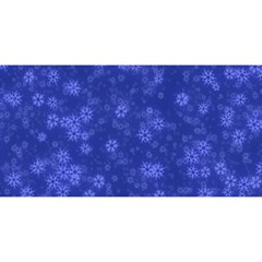 Snow Stars Blue YOU ARE INVITED 3D Greeting Card (8x4)