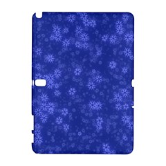 Snow Stars Blue Samsung Galaxy Note 10 1 (p600) Hardshell Case
