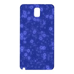 Snow Stars Blue Samsung Galaxy Note 3 N9005 Hardshell Back Case