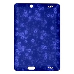 Snow Stars Blue Kindle Fire HD (2013) Hardshell Case