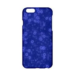 Snow Stars Blue Apple iPhone 6/6S Hardshell Case