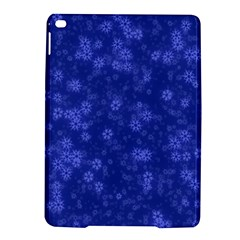 Snow Stars Blue iPad Air 2 Hardshell Cases