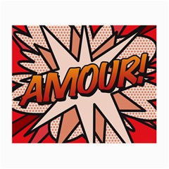 Comic Book Amour!  Small Glasses Cloth (2-Side)