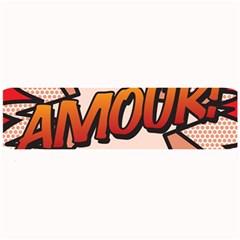 Comic Book Amour!  Large Bar Mats