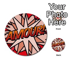 Comic Book Amour!  Multi-purpose Cards (Round)