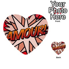 Comic Book Amour!  Multi-purpose Cards (Heart)
