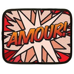 Comic Book Amour!  Netbook Case (XXL)