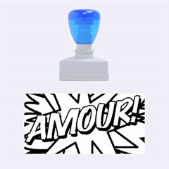 Comic Book Amour!  Rubber Stamps (Medium)