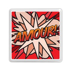 Comic Book Amour!  Memory Card Reader (square)