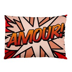 Comic Book Amour!  Pillow Cases (two Sides)