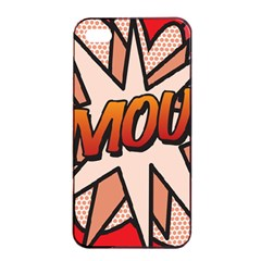 Comic Book Amour!  Apple iPhone 4/4s Seamless Case (Black)
