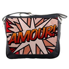 Comic Book Amour!  Messenger Bags