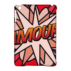 Comic Book Amour!  Apple iPad Mini Hardshell Case (Compatible with Smart Cover)