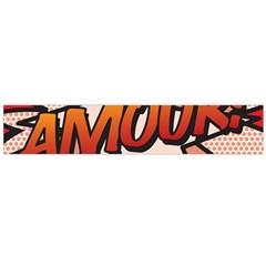 Comic Book Amour!  Flano Scarf (Large)