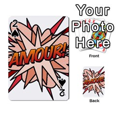 Comic Book Amour! Playing Cards 54 Designs