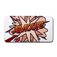Comic Book Amour! Medium Bar Mats