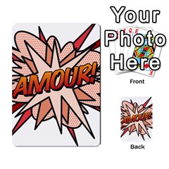 Comic Book Amour! Multi-purpose Cards (Rectangle)