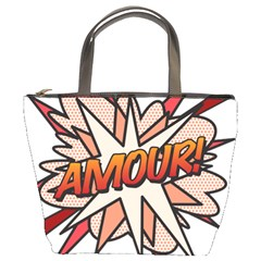 Comic Book Amour! Bucket Bags