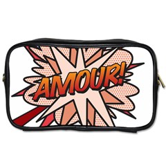 Comic Book Amour! Toiletries Bags 2-Side