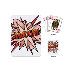 Comic Book Amour! Playing Cards (Mini)
