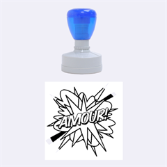 Comic Book Amour! Rubber Round Stamps (Medium)