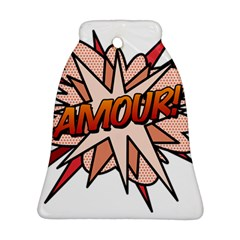 Comic Book Amour! Bell Ornament (2 Sides)