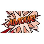 Comic Book Amour! #1 MOM 3D Greeting Cards (8x4)  Front