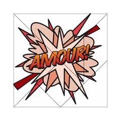 Comic Book Amour! Acrylic Tangram Puzzle (6  x 6 )