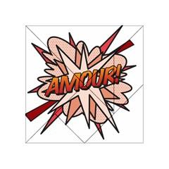 Comic Book Amour! Acrylic Tangram Puzzle (4  x 4 )