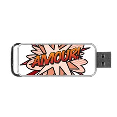 Comic Book Amour! Portable USB Flash (One Side)