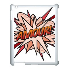 Comic Book Amour! Apple iPad 3/4 Case (White)