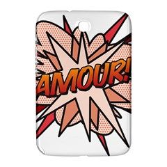 Comic Book Amour! Samsung Galaxy Note 8.0 N5100 Hardshell Case