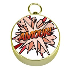 Comic Book Amour! Gold Compasses