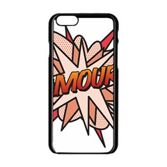 Comic Book Amour! Apple iPhone 6/6S Black Enamel Case