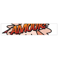 Comic Book Amour! Flano Scarf (Small)
