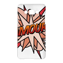 Comic Book Amour! Samsung Galaxy A5 Hardshell Case