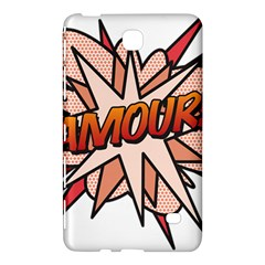 Comic Book Amour! Samsung Galaxy Tab 4 (8 ) Hardshell Case
