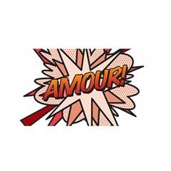 Comic Book Amour! Satin Wrap