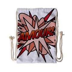Comic Book Amour! Drawstring Bag (Small)