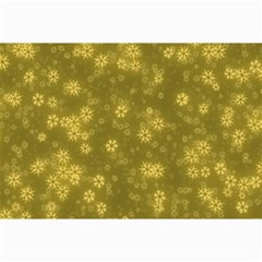 Snow Stars Golden Collage 12  x 18
