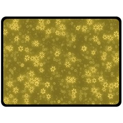 Snow Stars Golden Fleece Blanket (large)