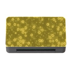 Snow Stars Golden Memory Card Reader with CF