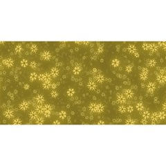 Snow Stars Golden You Are Invited 3d Greeting Card (8x4)