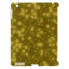 Snow Stars Golden Apple iPad 3/4 Hardshell Case (Compatible with Smart Cover)