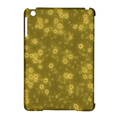 Snow Stars Golden Apple iPad Mini Hardshell Case (Compatible with Smart Cover)