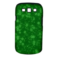Snow Stars Green Samsung Galaxy S III Classic Hardshell Case (PC+Silicone)