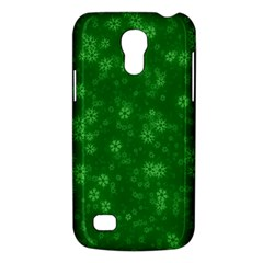 Snow Stars Green Galaxy S4 Mini